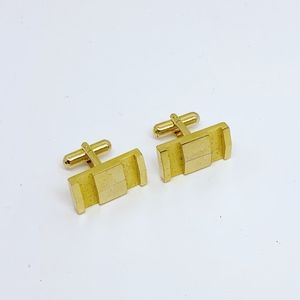 Other - 18k gold filled cufflinks set #180